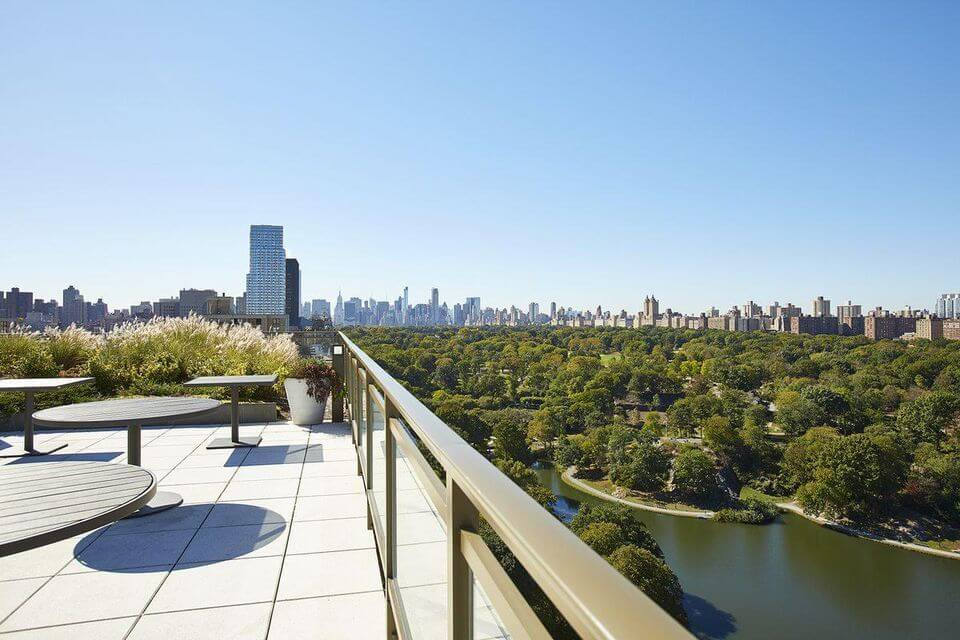 One Museum Mile gives full views of Central Park and the city's bridges.