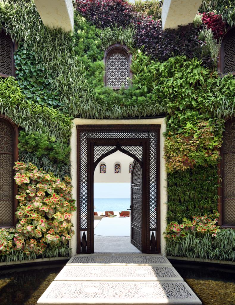 360-degree garden at Ty Warner Mansion Las Ventanas al Paraiso COURTESY OF TY WARNER MANSION LAS VENTANAS AL PARAISO